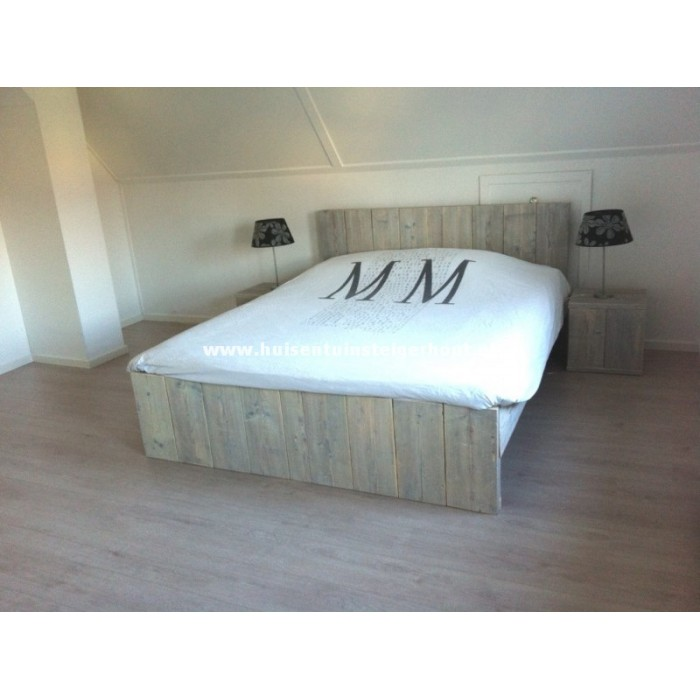 2 Persoons Spijlenbed.2 Persoons Bed Original
